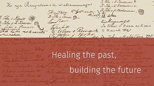 Healing the past, building the future